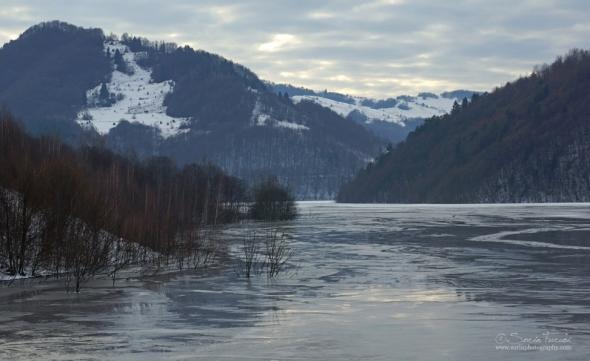 Geamana Lake, Rosia Poieni, Romania's Apuseni Mountains