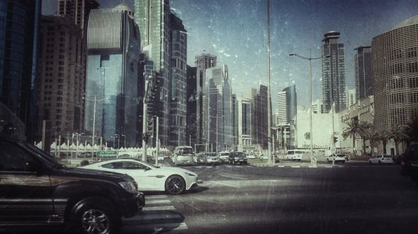 West Bay in Doha with Xperia Z
