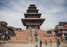 The temple was founded by king Bhupatindra Malla in 1702 AD. Nyatapola in Newari means five-tiered temple symbolizing the five basic elements of Nature.
