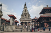 It was built in Shikhara style by Jaya Ranajit Malla in the 17th century AD. The temple is dedicated to the mother goddess Durga.